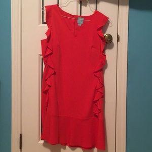 Cece red dress